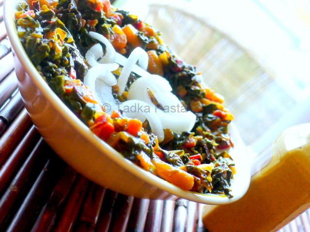Chard masala