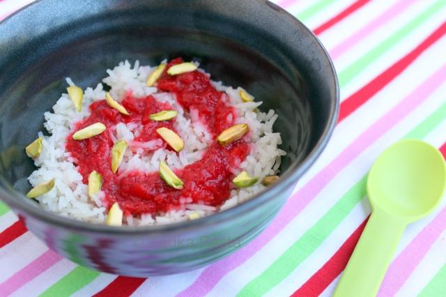 Berry Blast – Swirly Strawberry Rice