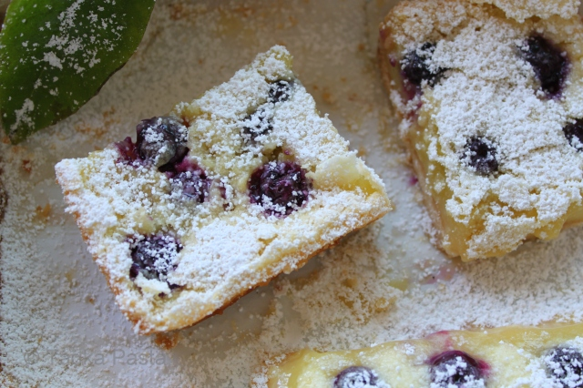 Best Blueberry Bars Recipe Made With Cake Mix
