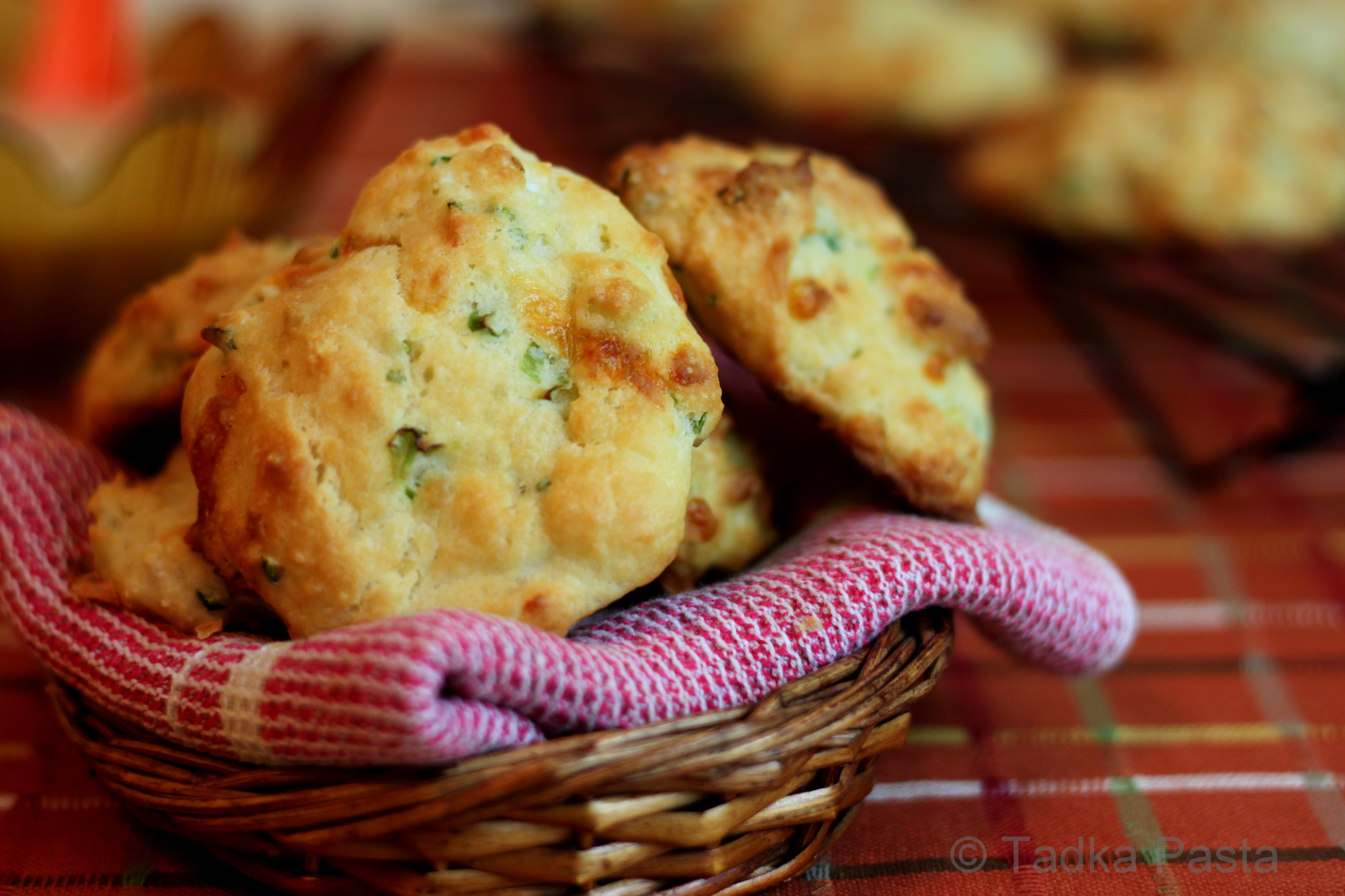 Southern Biscuits Spiked With Spice | Tadka Pasta