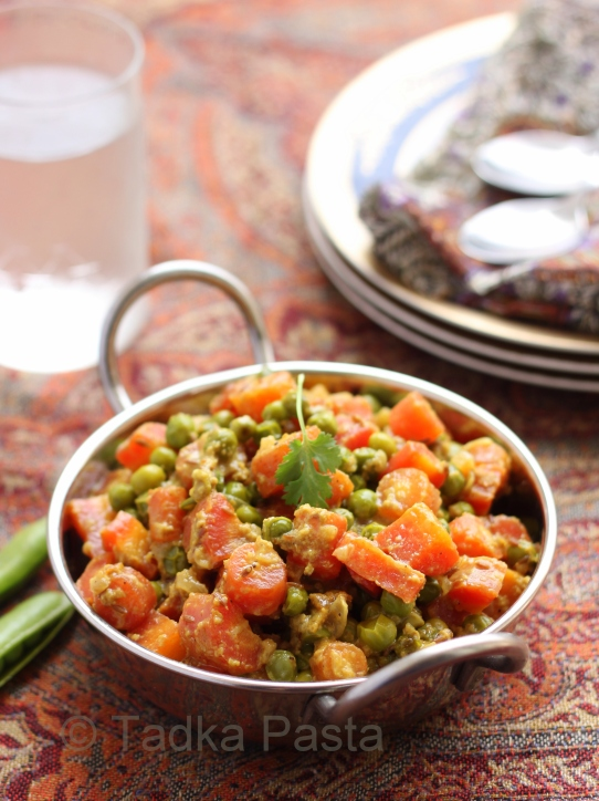 Carrot and Peas Curry