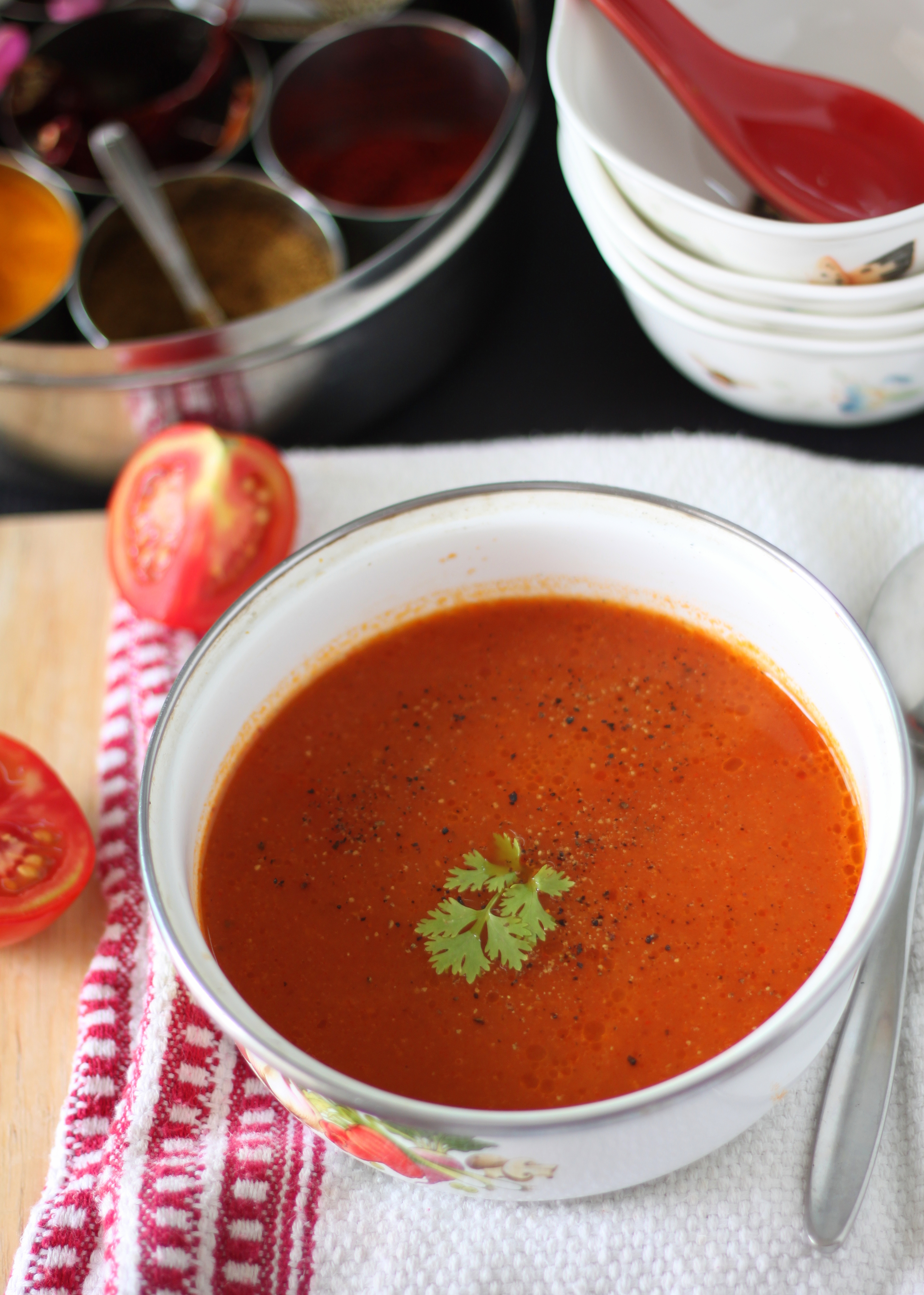 Tomato Soup India Curried Tomato Soup