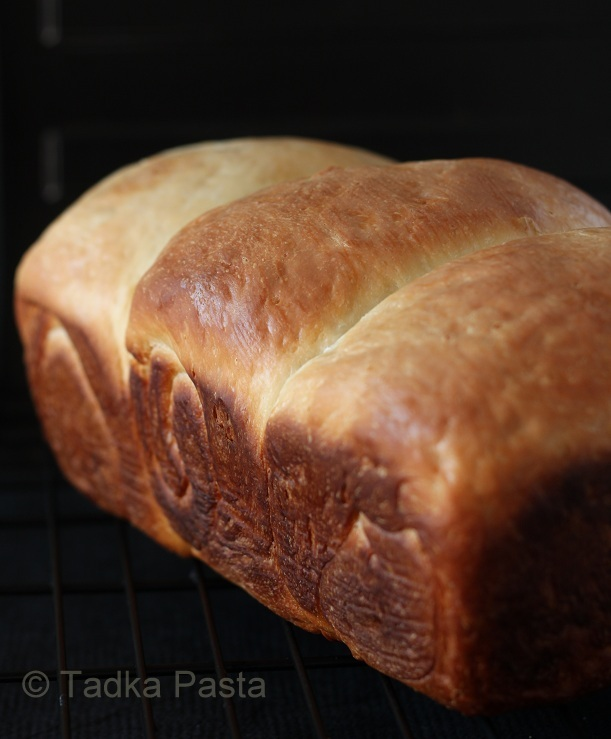 Milk bread with Tangzhong