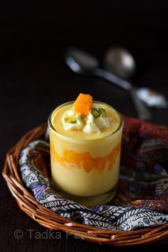 Fresh Mango Mousse Cake Recipe