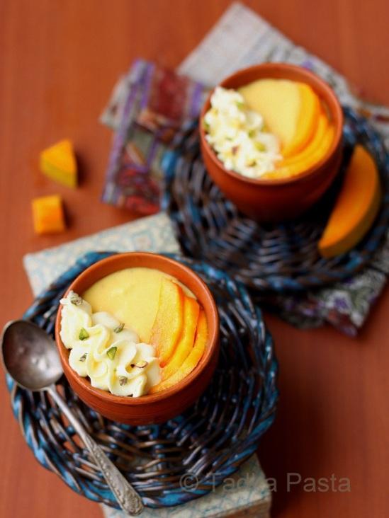 Mango Lassi Mousse