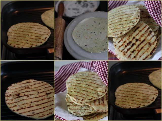Grilled Kulchas