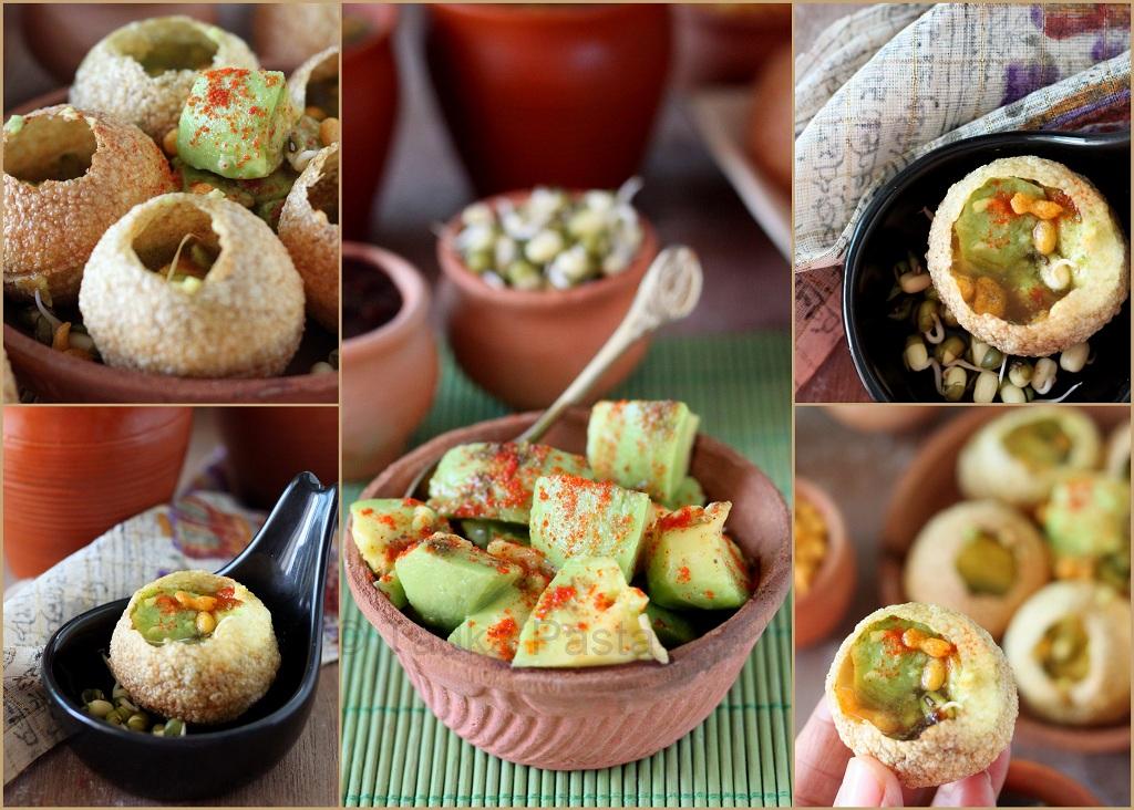 Gulp and gone avocado pani puri tadka pasta avocado pani puri forumfinder Images