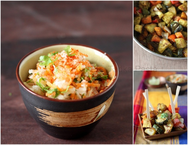 Roasted Veggie Chaat