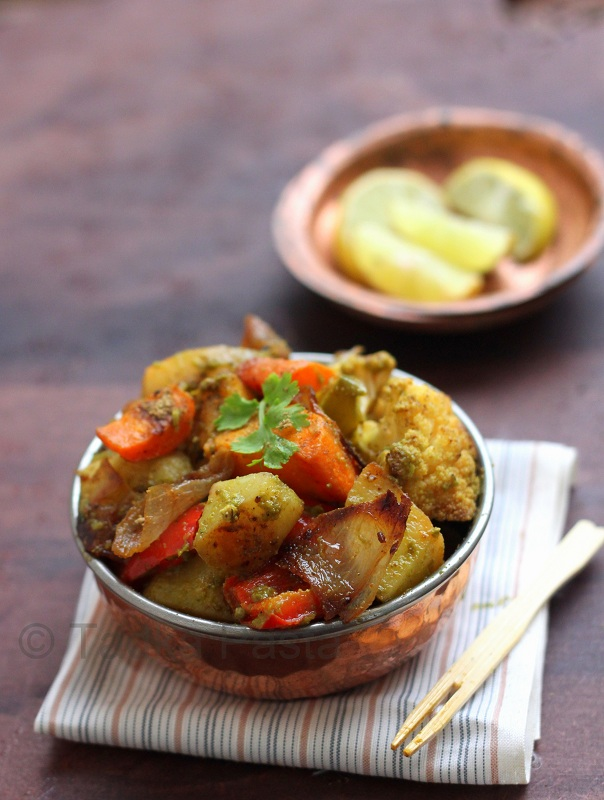 Roasted Veggie Chaat