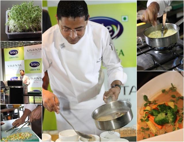 Tetley Green Tea event at Vivanta by Taj