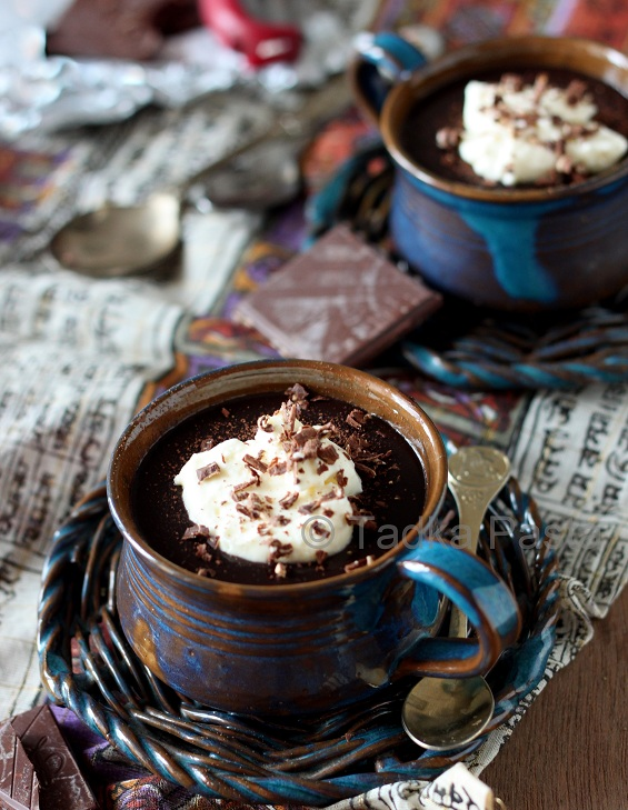 Chocolate Souffles With Brown Sugar And Rum Whipped Cream ...