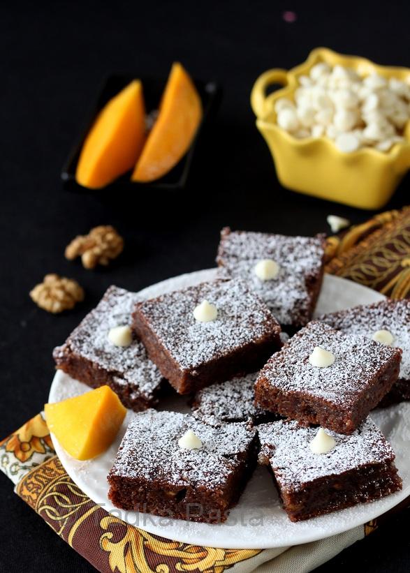 Mango Brownies