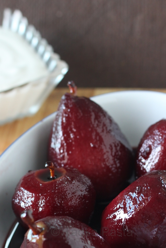 Serve the fruit with vanilla ice cream or fresh whipped cream and some ...