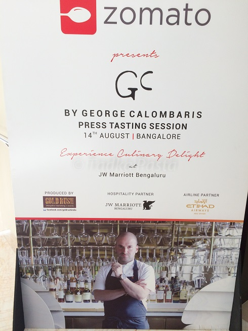 George Calombaris Bangalore