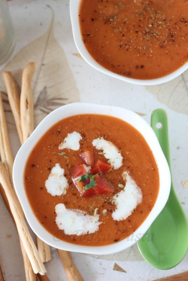 Carrot-leek soup2
