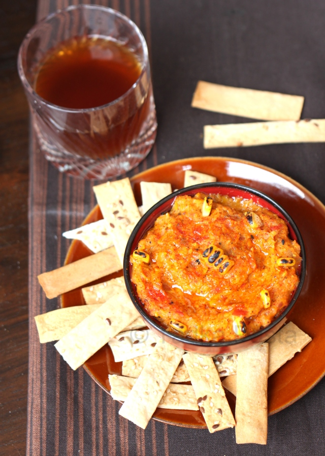 Fire-roasted Corn Dip