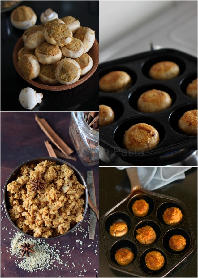 millet-stuffed-mushrooms